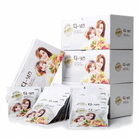 原装进口D-NUTS坚果水果营养包·4盒