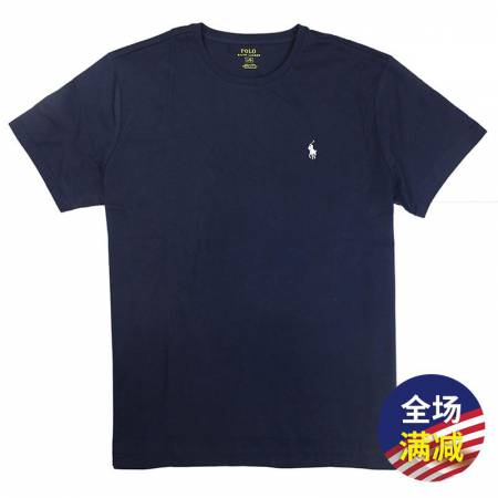 Polo Ralph Lauren男士短袖T恤·深蓝色