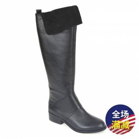 Nine West 女士圆头长筒靴·黑色