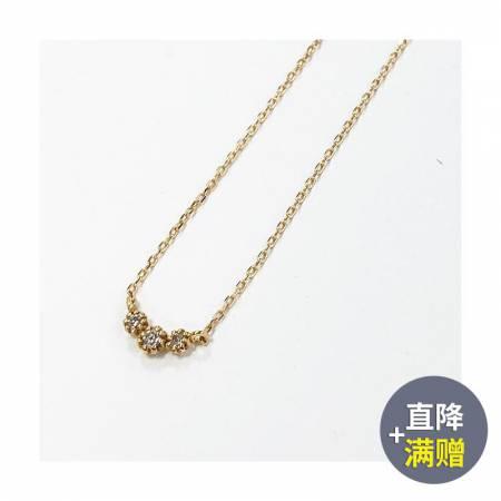 Vermeer 18K金三钻钻石项链3分·钻石