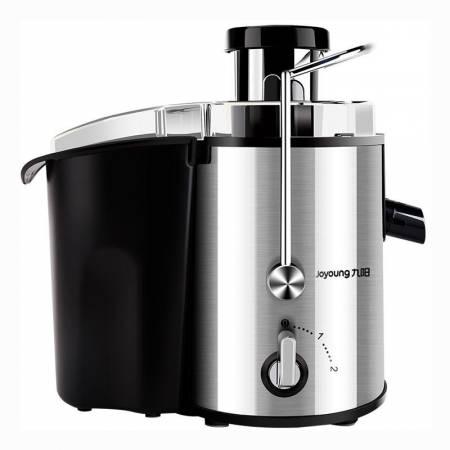 九阳(Joyoung) JYZ-D55大口径不锈钢榨汁机食品级材质两档调速正品大