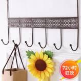 [JM]家居韩式高品编制款免钉门后挂钩(3个装)