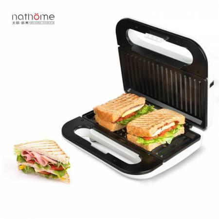 nathome/北欧欧慕 三明治机家用电饼铛烤面包机帕尼尼机