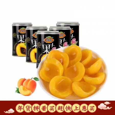 华泉黄桃罐头425g*5铁罐自有果园不催熟河北特产水果罐头
