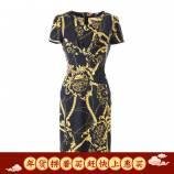 朗姿独家设计周年庆合作款连衣裙