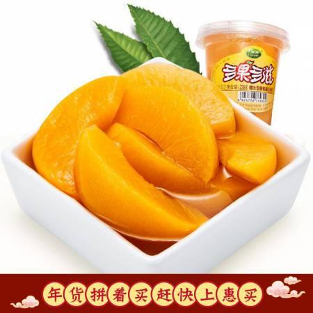 栗源黄桃水果杯238g*8
