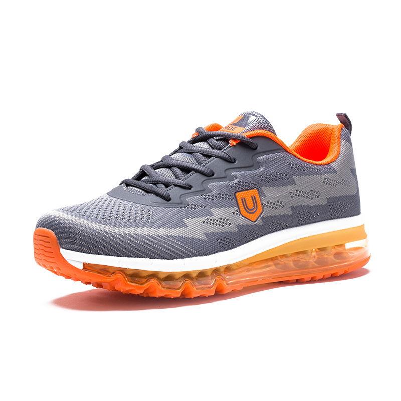 美国品牌u.shoe优树全脚掌气垫运动休闲运动鞋·灰色