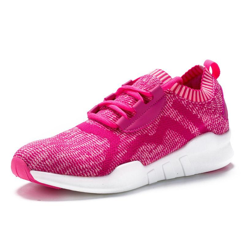 情侣运动鞋飞线飞织跑步运动鞋软底轻便鞋子男潮鞋·121712210028-紫红