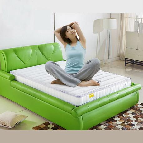 索莫纳缌泰国天然乳胶床垫 定制款 可拆洗意大利针织面料120*200cm厚15cm