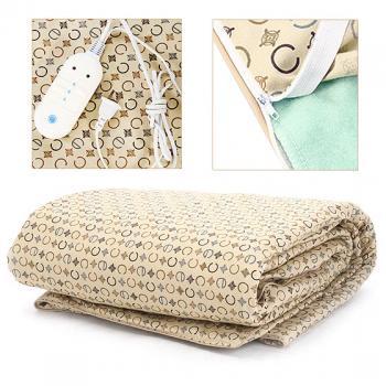 """""""立福""""碳纤维远红外电热毯"""