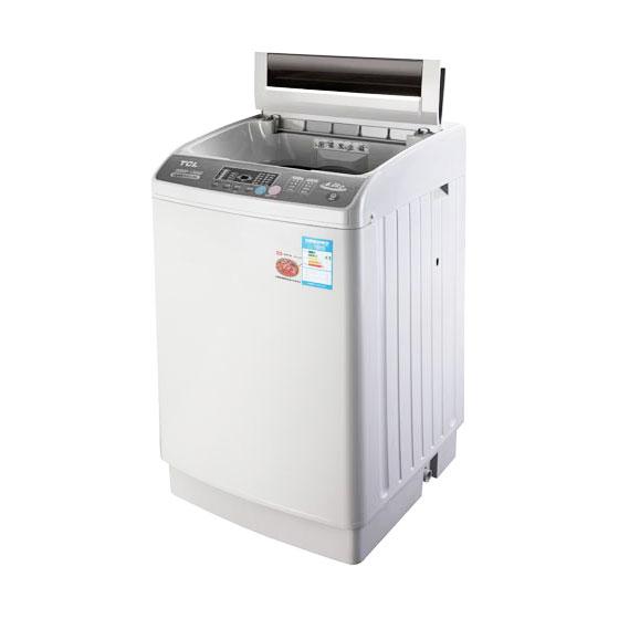 tcl全自动洗衣机xqb60-150s亮灰色