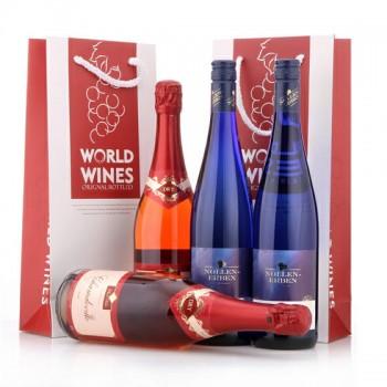 德森雷司令白葡萄酒超值礼盒 透明