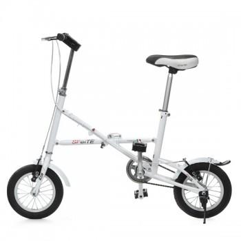 圣飞特折叠自行车 白色