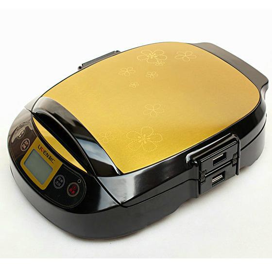 利仁电器官网_【利仁电饼铛LR-300HF高端微电脑操作至臻厨房典范】报价_图片