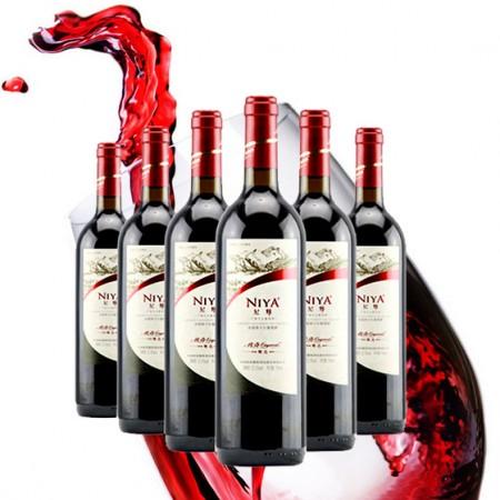 尼雅传奇干红精选6瓶 国产红酒中的拉菲