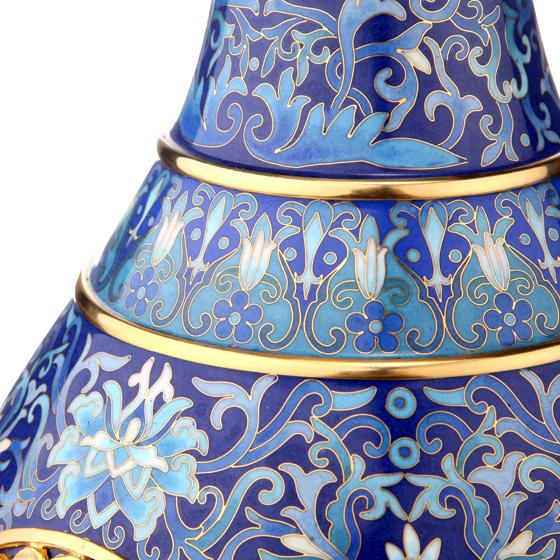 apec国礼《四海升平》赏瓶 蓝色