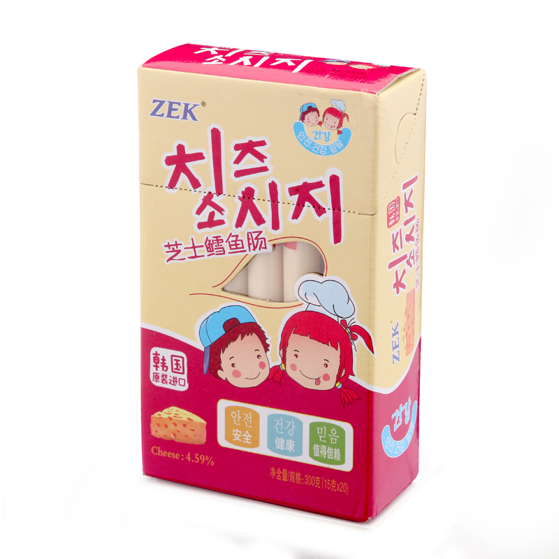 ZEK芝士鳕鱼肠2盒特惠组