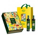 西班牙进口米罗卡特级初榨橄榄油500ml*2瓶 礼盒