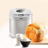 ACA炫彩白色不锈钢面包机(19项菜单一键启动)