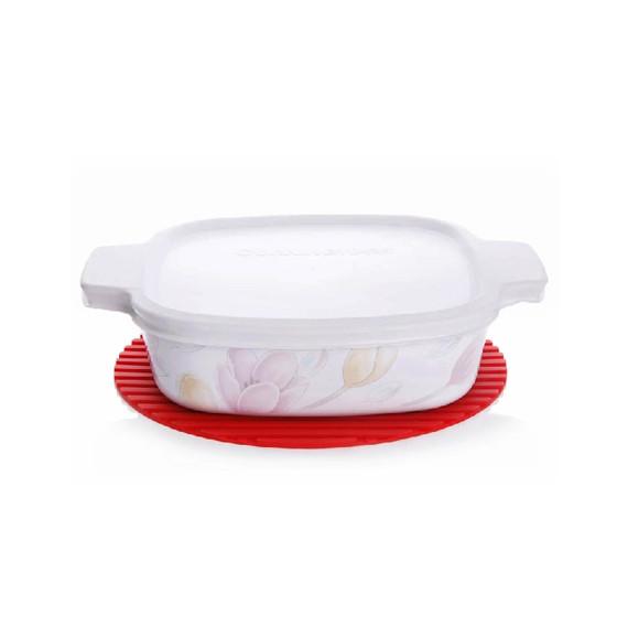 [美国康宁] 晶彩透明锅专用硅胶锅垫