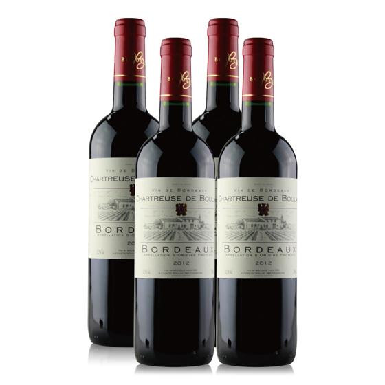 [查特]布雅克干红葡萄酒4瓶装