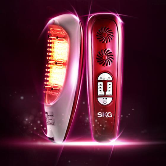 SKG红光微电流丰胸仪器 红色