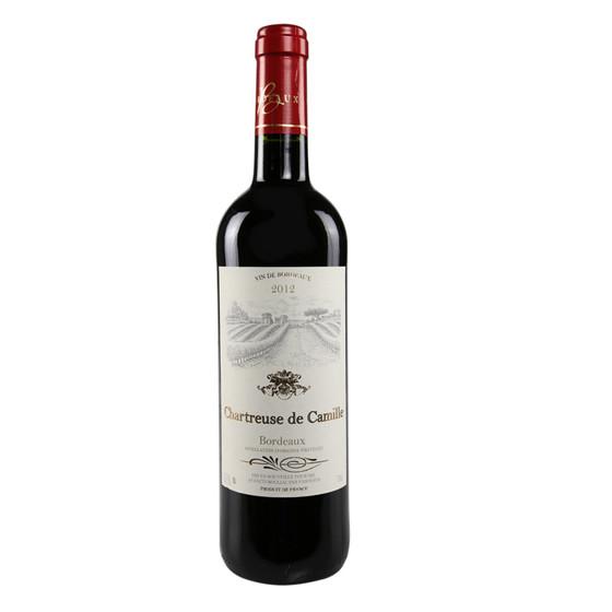 法国原瓶查特卡米尔红葡萄酒2瓶装