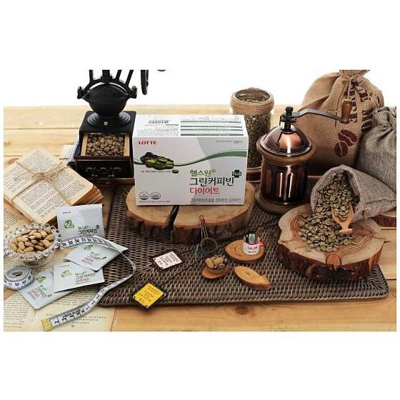 海外购韩国进口营养咖啡纤体片2盒(8周量)