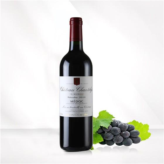 法国圣德利酒庄橡木桶干红葡萄酒单支装