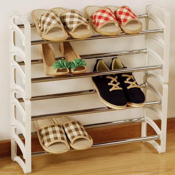 纸壳手工制作鞋架