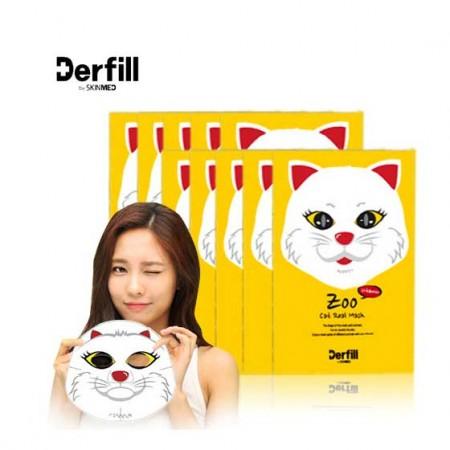 海外购Derfill小猫面膜超值10片