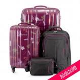 [美旅]欧陆风情印花箱包组(周年纪念版)紫色印花