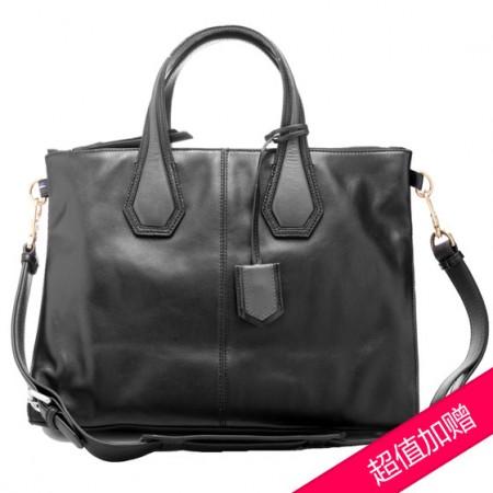 FINNESKER 女式手拎包·黑色
