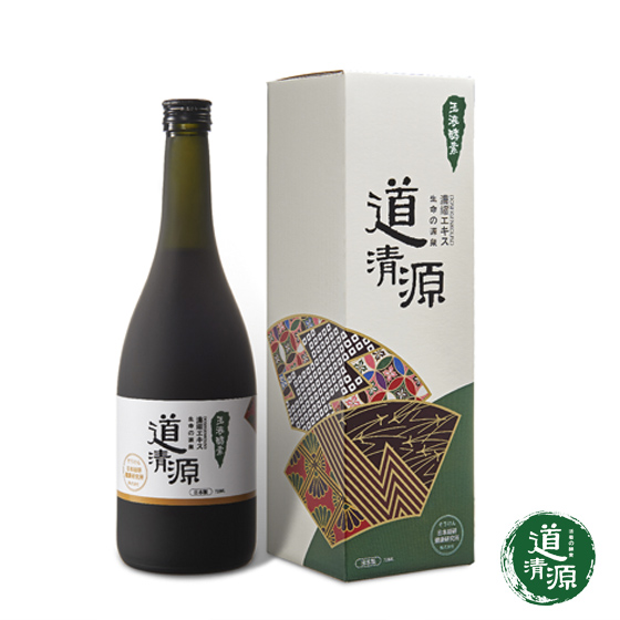 日本原装进口道清源玉液酵素720ml