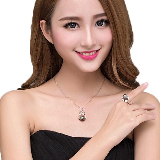 水年华黑珍珠两件套 黑色