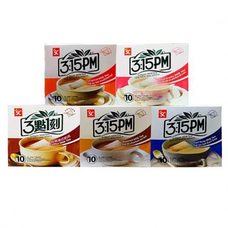 台湾三点一刻奶茶200g*5盒 5种口味