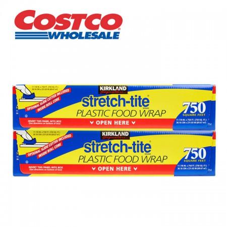 海外购美国costco柯克兰保鲜膜两盒装