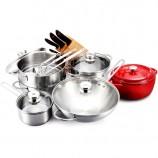 双立人TWIN NovaIII厨房能手中式炒锅套装