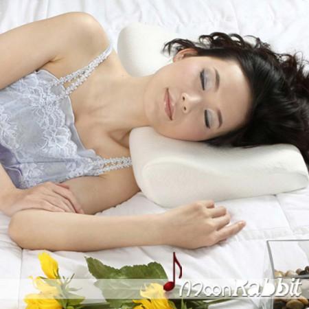 [月亮兔] 慢回弹简约音乐枕 内置低频音响 舒适睡眠