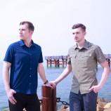 [KARRIMOR]男士休闲衬衫2色2件+速干T恤1件