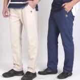[美国U.S.POLO ASSN.]亚麻舒适男裤
