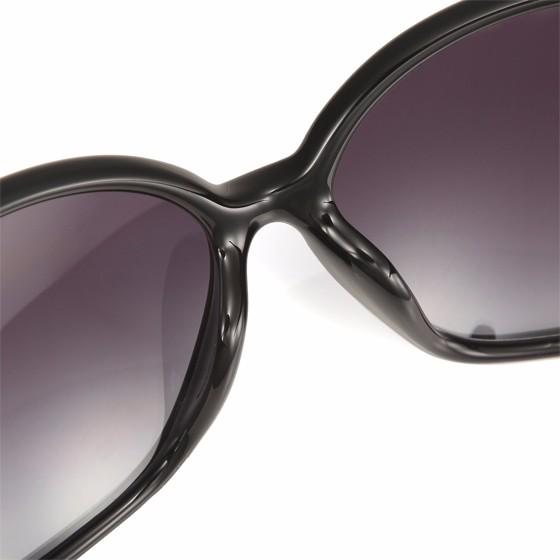 GUCCI 经典款百搭时尚太阳镜 黑色