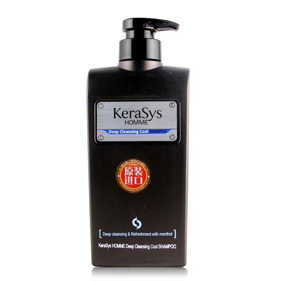 [爱敬AEKYUNG] 克拉洗丝男士洗护发套装 黑色