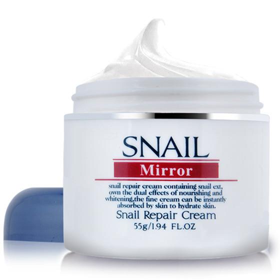 莫洛琪蜗牛修护精华霜6瓶(单件约34元)