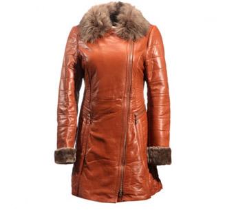 [今昇]贵族夫人绵羊皮皮草大衣