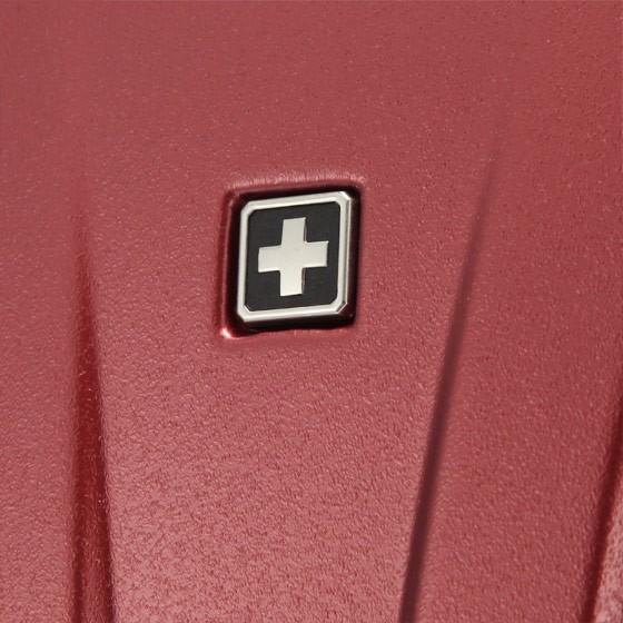 SWISSWIN 优选24英寸拉杆箱套组+1个双肩包·酒红色