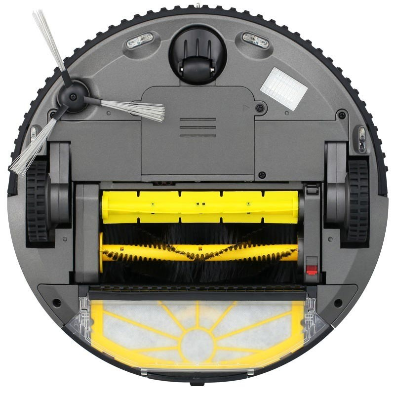 福玛特 黑珍珠智能扫地机器人E-R610B·黑色