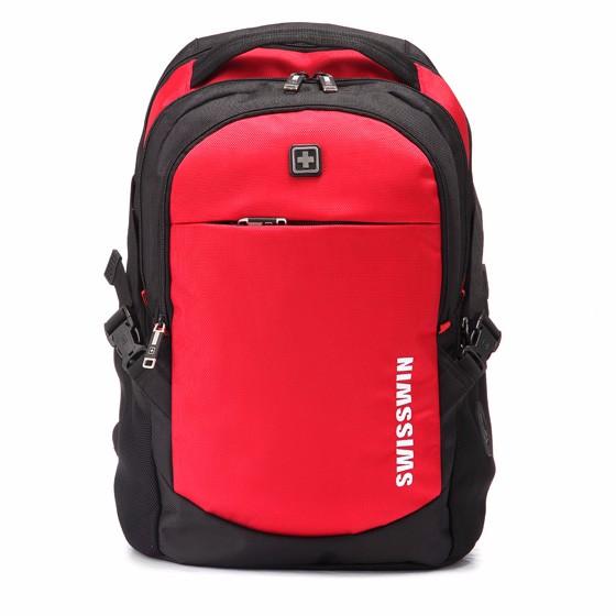 SWISSWIN 快乐出行背包·3件·红色