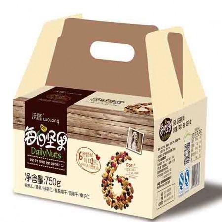 沃隆营养美味组坚果(共60包,单包约5元)