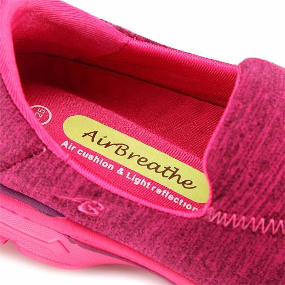 AIRBREATHE 休闲舒适女鞋·玫红色